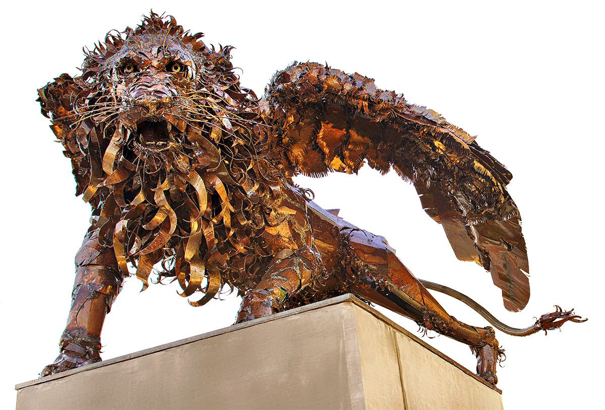 'Parvaz' - Sculpture by Brandon Greer, 2013.